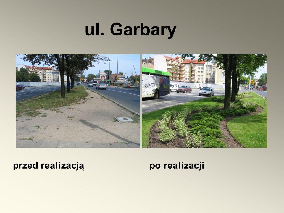 przed realizacją ul. Garbary