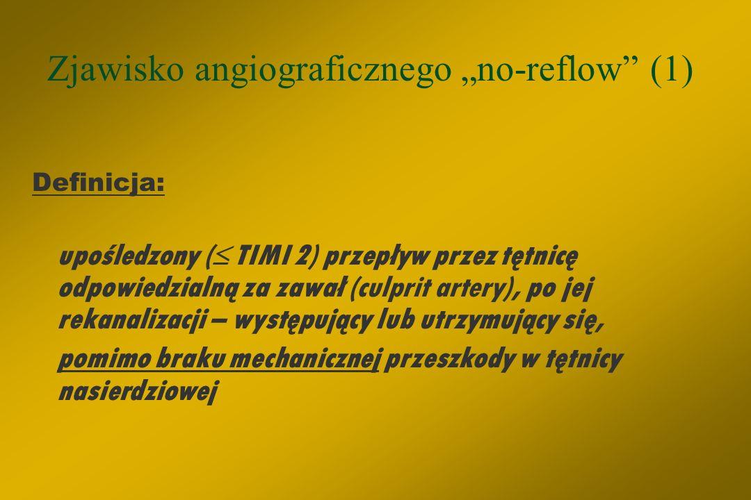 CEL: drożna tętnica + perfuzja mikrokrażenia