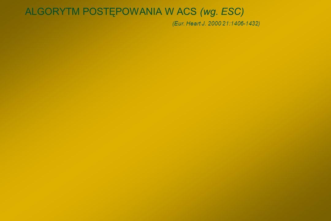 Chorzy ze stabilną ChNS wskazania do PCI §Choroba 2 – lub 3 tętnic, z istotnym zwężeniem proksymalnej GPZ i korzystną dla PCI morfologią zmian, u chor