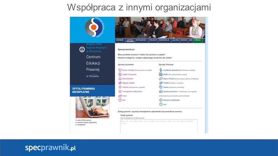 Współpraca z innymi organizacjami