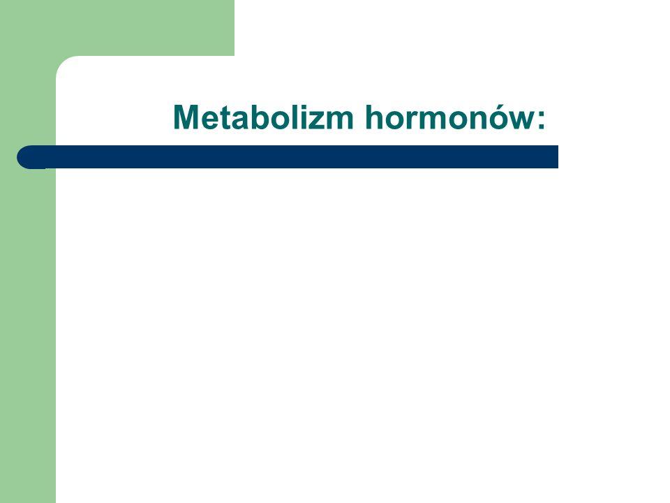 Metabolizm hormonów: