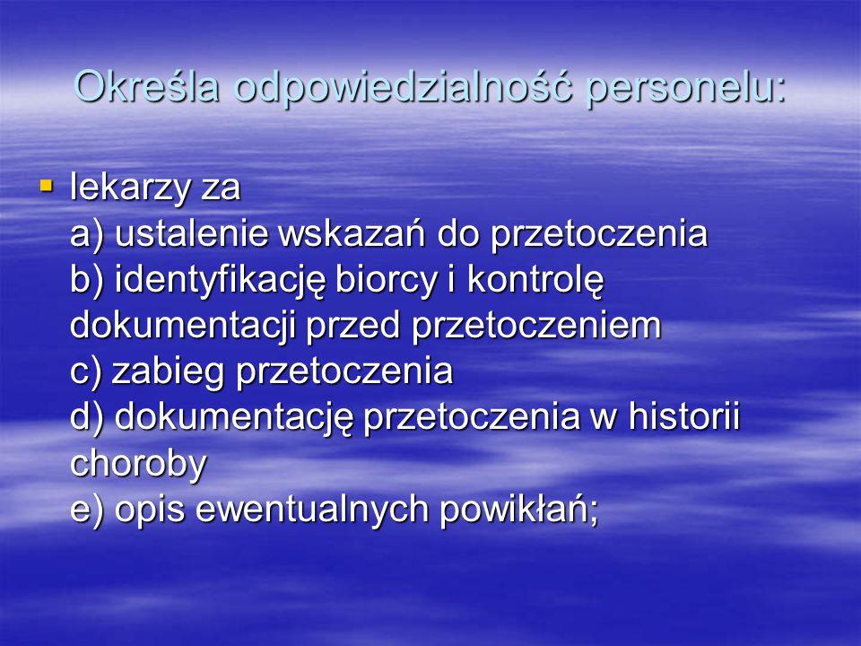 """OZNAKOWANIE PREPARATU (etykieta umieszczana na pojemniku)  Nazwa placówki, w której otrzymano preparat;  Nazwa preparatu np.. Koncentrat Krwinek Czerwonych lub skrót KKCz  Grupa układu ABO i Rh (słownie Rh dodatni lub """"Rh ujemny ); w Polsce dodatkowo kod kolorowy – A – niebieski, B – czerwony, AB – żółty, 0 – biały w ramce."""