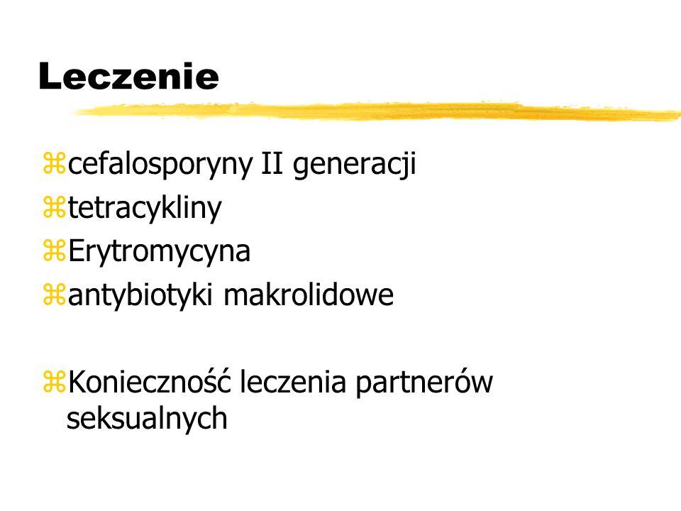 Etiologia (u 70% kobiet wykrywamy) zChlamydia trachomatis zNeisseria gonorrhoea zwirus opryszczki HSV