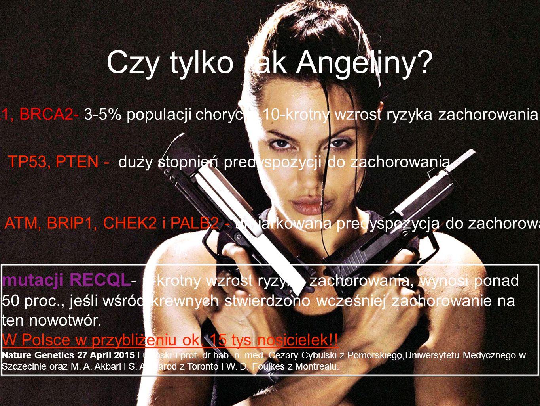 Czy tylko rak Angeliny.