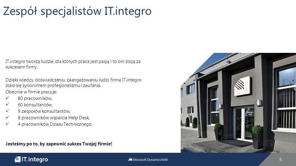 6 IT.integro jest renomowanym partnerem biznesowym.