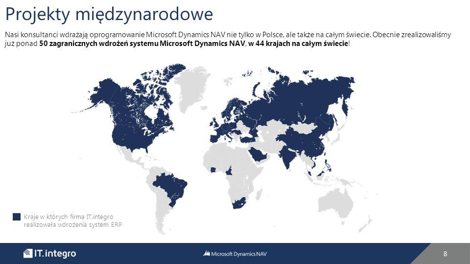 """9 """"Firma od początku swojej działalności stawiała na współpracę z najlepszymi firmami w danej branży i dlatego wybrała również system Microsoft Dynamics NAV oraz firmę wdrażającą IT.integro."""