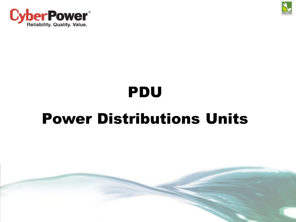 PDU Power Distributions Units