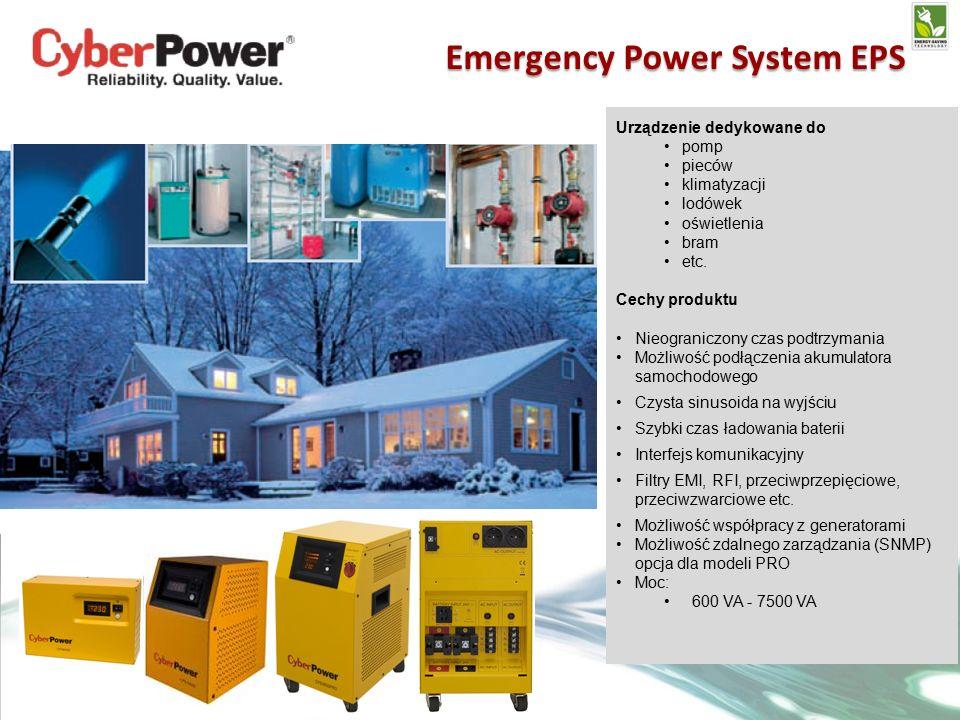 Urządzenie dedykowane do pomp pieców klimatyzacji lodówek oświetlenia bram etc.