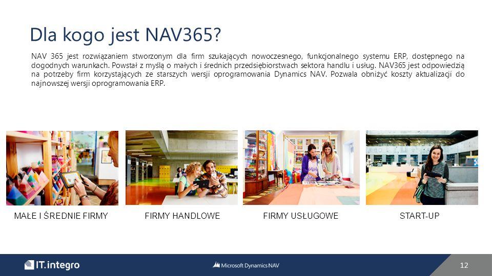 Dla kogo jest NAV365.