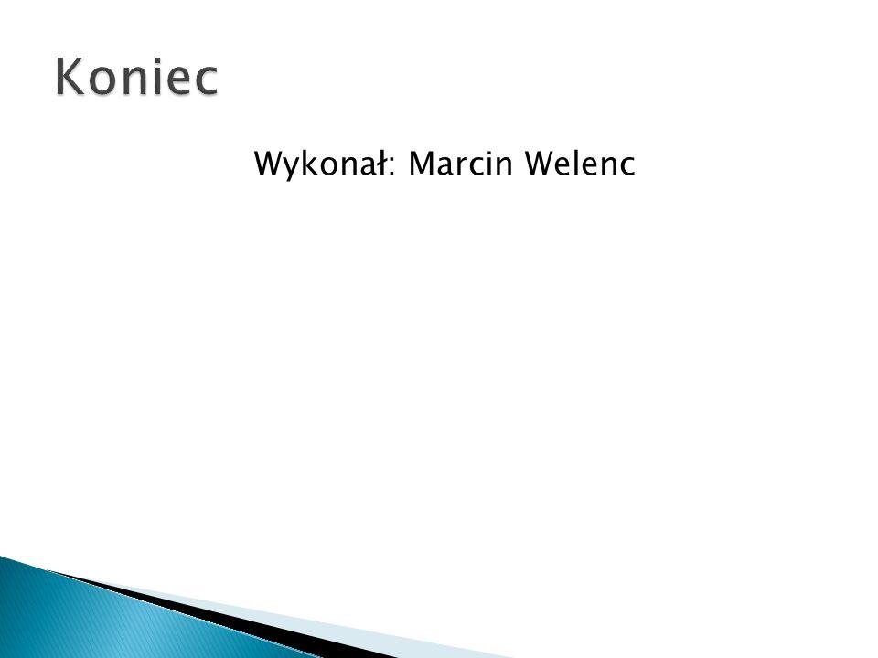 Wykonał: Marcin Welenc