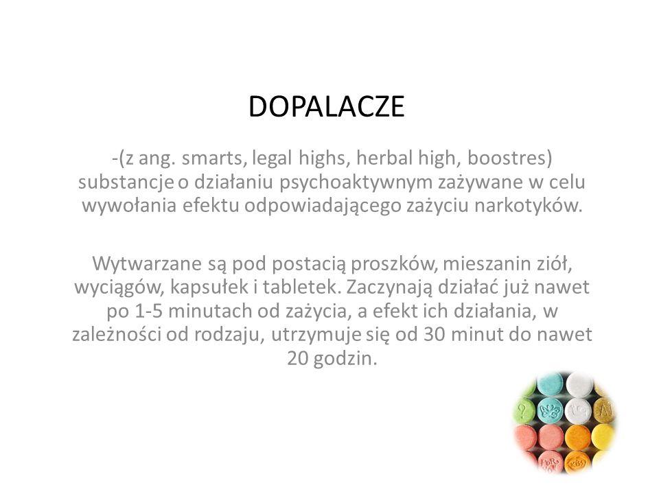 DOPALACZE -(z ang.