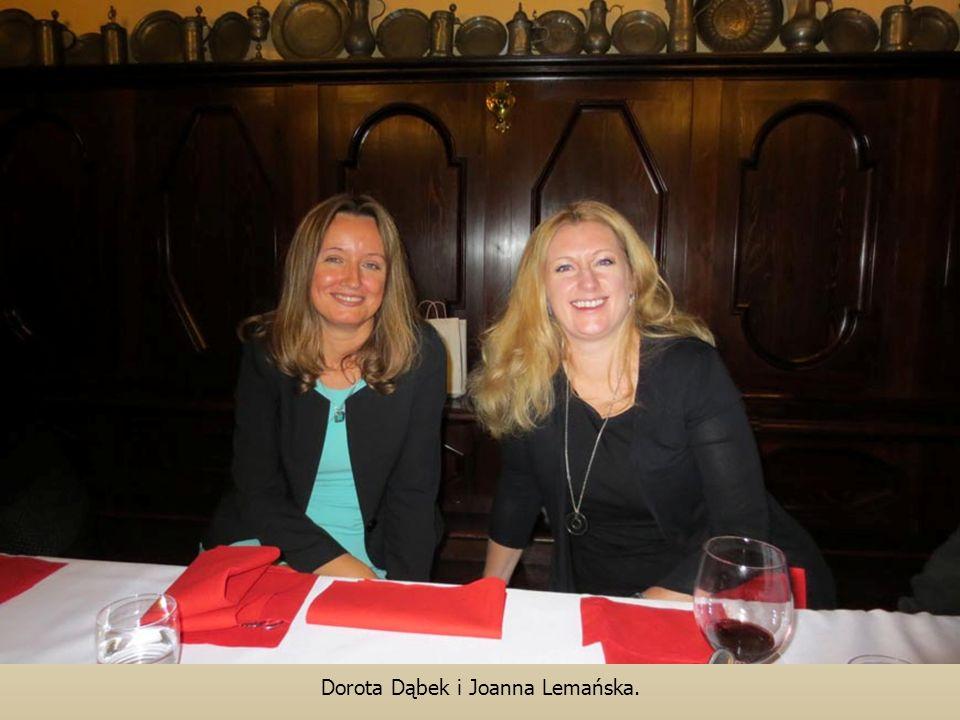 Dorota Dąbek i Joanna Lemańska.