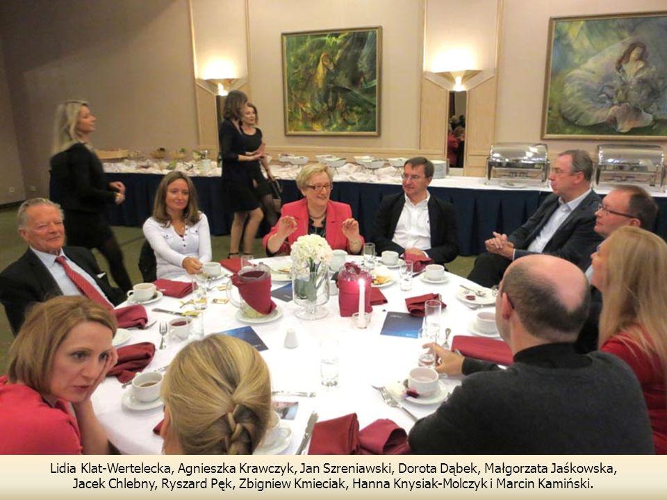 Lidia Klat-Wertelecka, Agnieszka Krawczyk, Jan Szreniawski, Dorota Dąbek, Małgorzata Jaśkowska, Jacek Chlebny, Ryszard Pęk, Zbigniew Kmieciak, Hanna K
