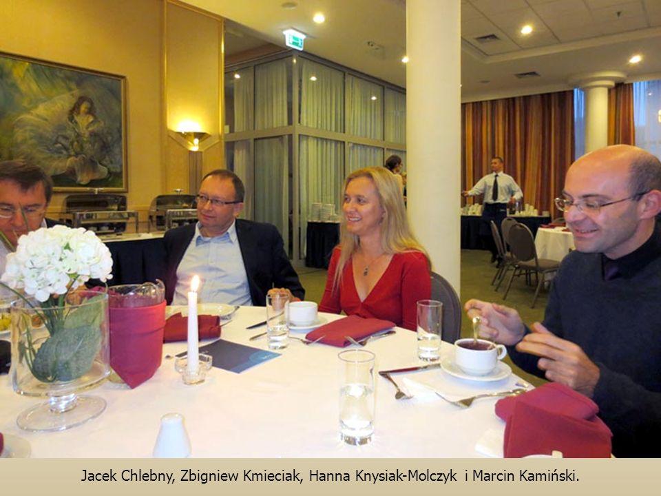 Jacek Chlebny, Zbigniew Kmieciak, Hanna Knysiak-Molczyk i Marcin Kamiński.