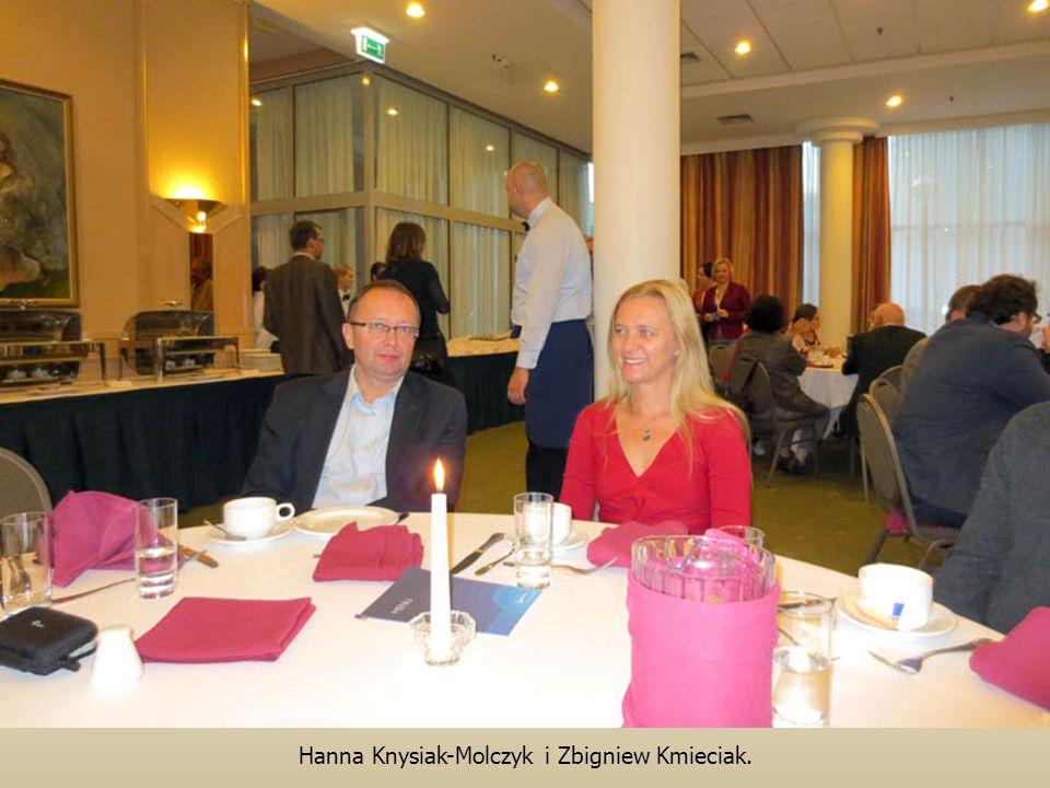 Hanna Knysiak-Molczyk i Zbigniew Kmieciak.