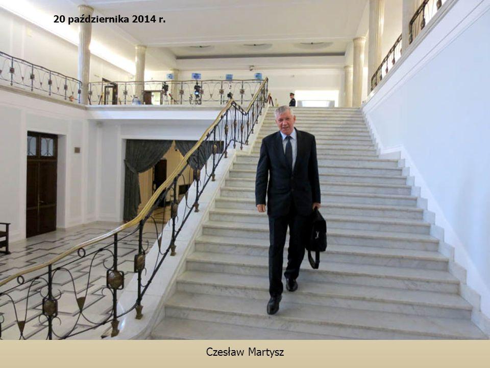 Czesław Martysz 20 października 2014 r.