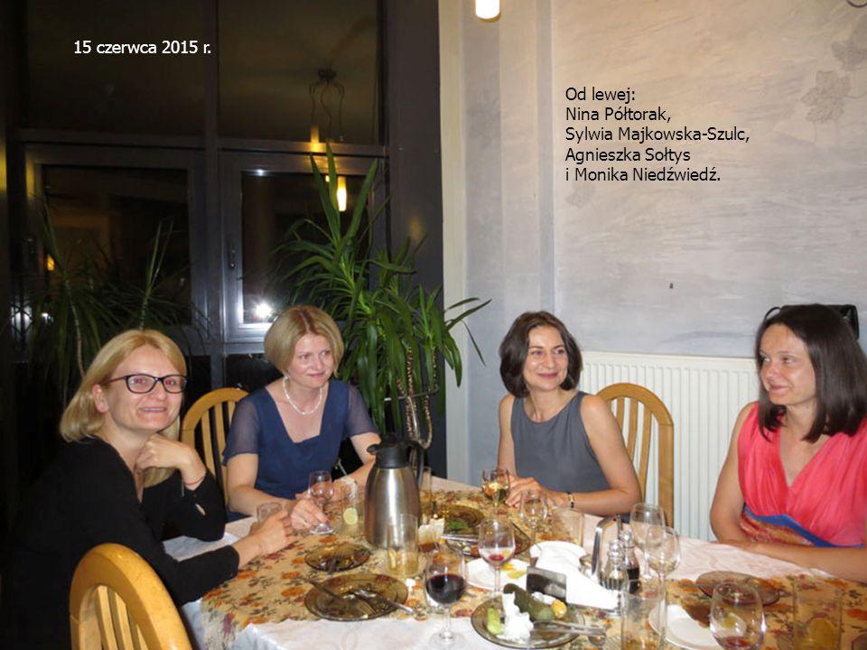 Od lewej: Nina Półtorak, Sylwia Majkowska-Szulc, Agnieszka Sołtys i Monika Niedźwiedź.
