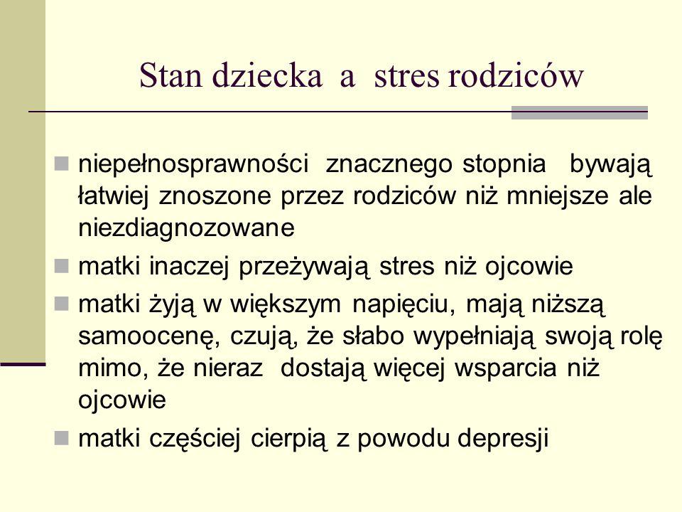 Postawienie rozpoznania - stresem.