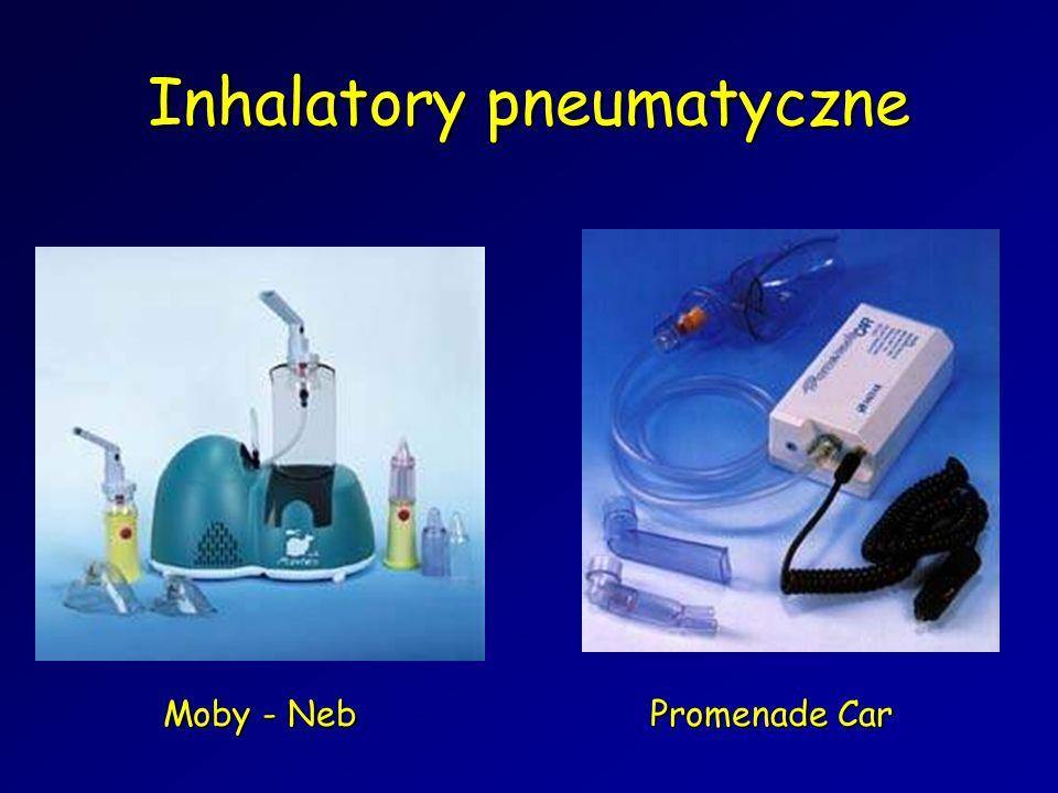 Promenade Car Moby - Neb Inhalatory pneumatyczne