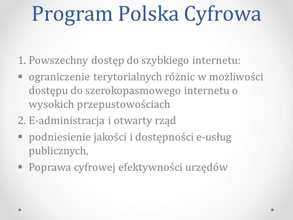 Program Polska Cyfrowa 1.