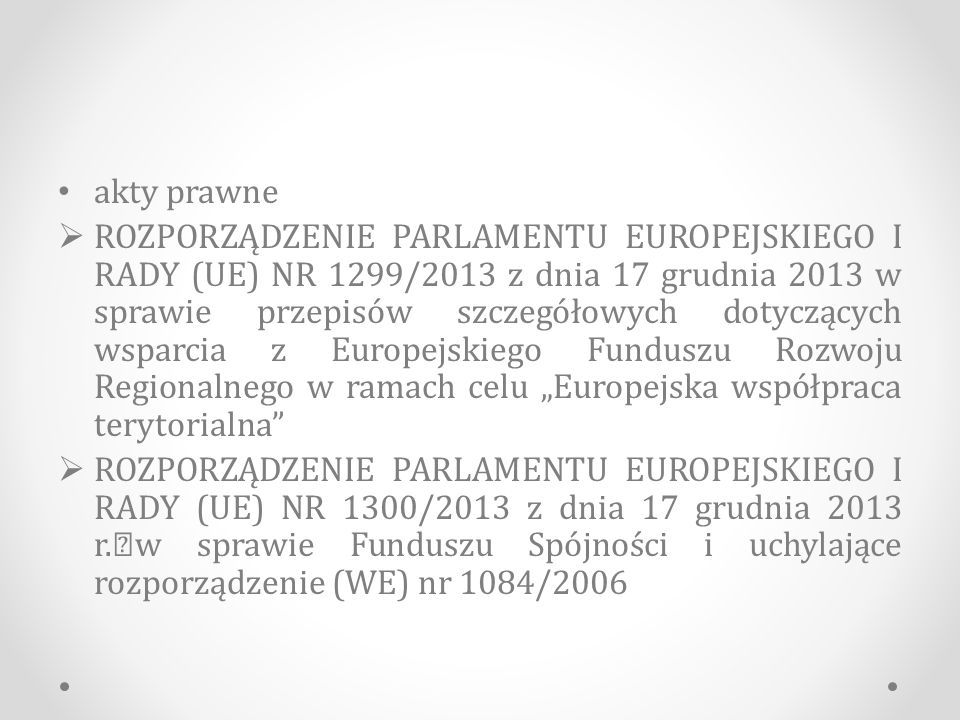 Europejski Fundusz Społeczny I.Cele 1.Zapewnianie dostępu do miejsc pracy 2.Stwarzanie szans dla młodzieży 3.Wzmacnianie działalności gospodarczej 4.Dbanie o rozwój zawodowy 5.walka z wykluczeniem społecznym Walka z marginalizacją Promowanie przedsiębiorstw społecznych Wspieranie partnerstwa lokalnego Integracyjne podejście Lepsza edukacja