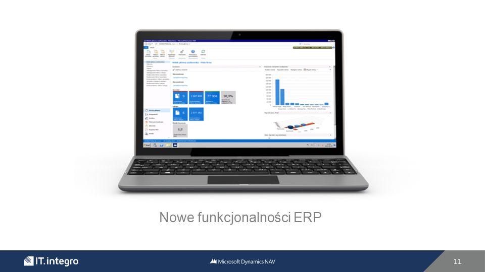 Nowe funkcjonalności ERP 11