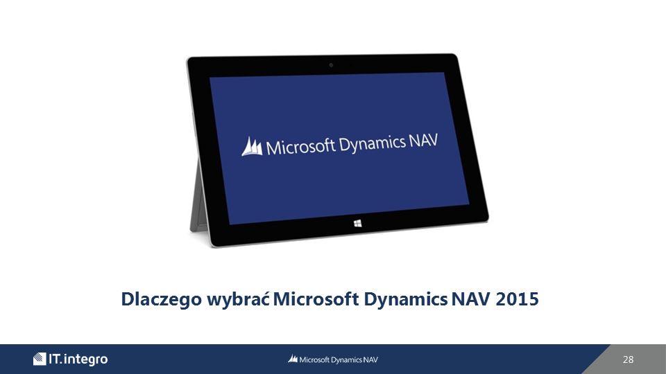 Dlaczego wybrać Microsoft Dynamics NAV 2015 28
