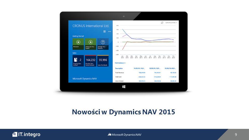 Nowości w Dynamics NAV 2015 9