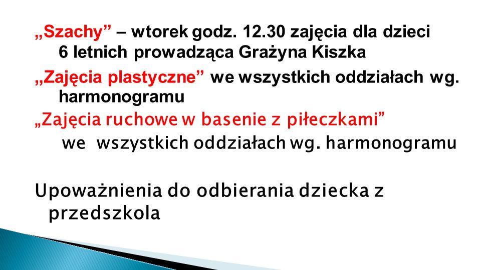 """""""Szachy – wtorek godz."""