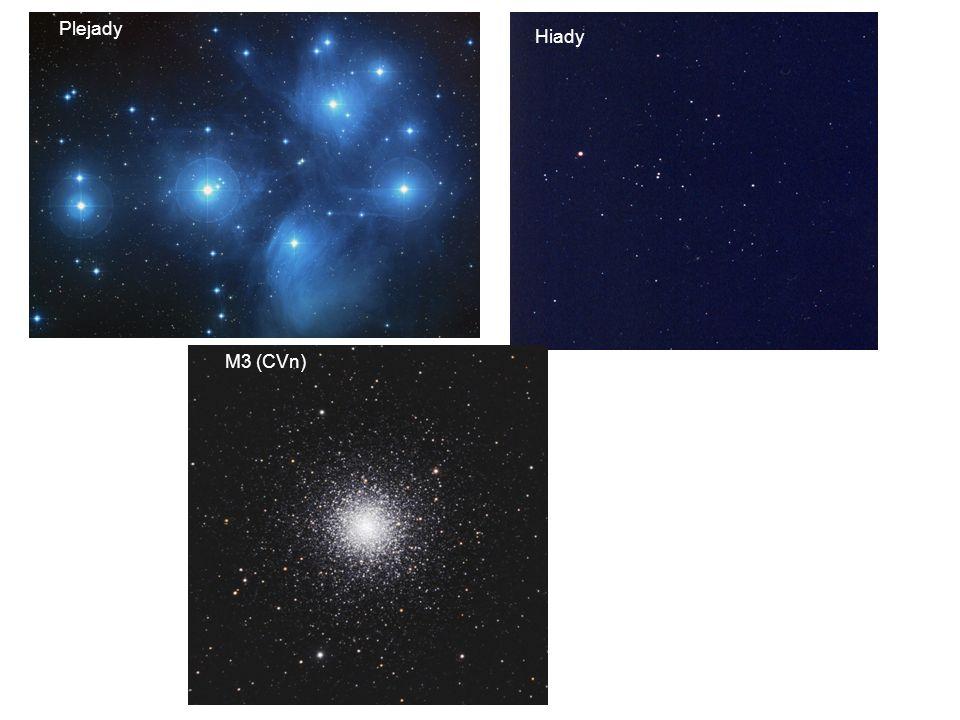 Plejady Hiady M3 (CVn)