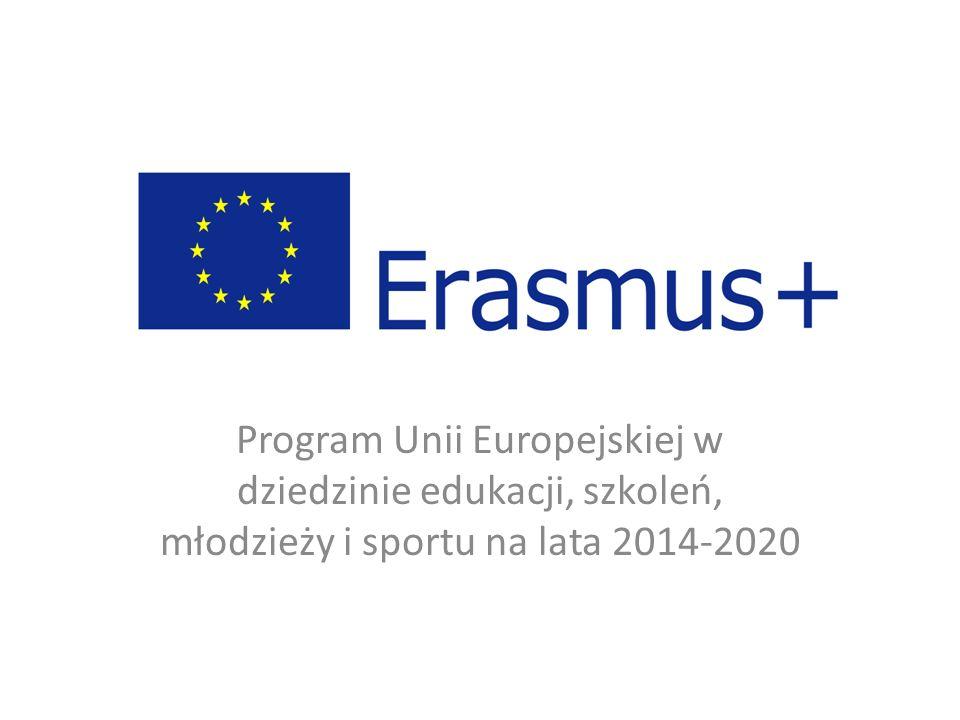 Program Unii Europejskiej w dziedzinie edukacji, szkoleń, młodzieży i sportu na lata 2014-2020