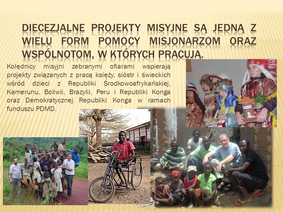 Kolędnicy misyjni zebranymi ofiarami wspierają projekty związanych z pracą księży, sióstr i świeckich wśród dzieci z Republiki Środkowoafrykańskiej, K
