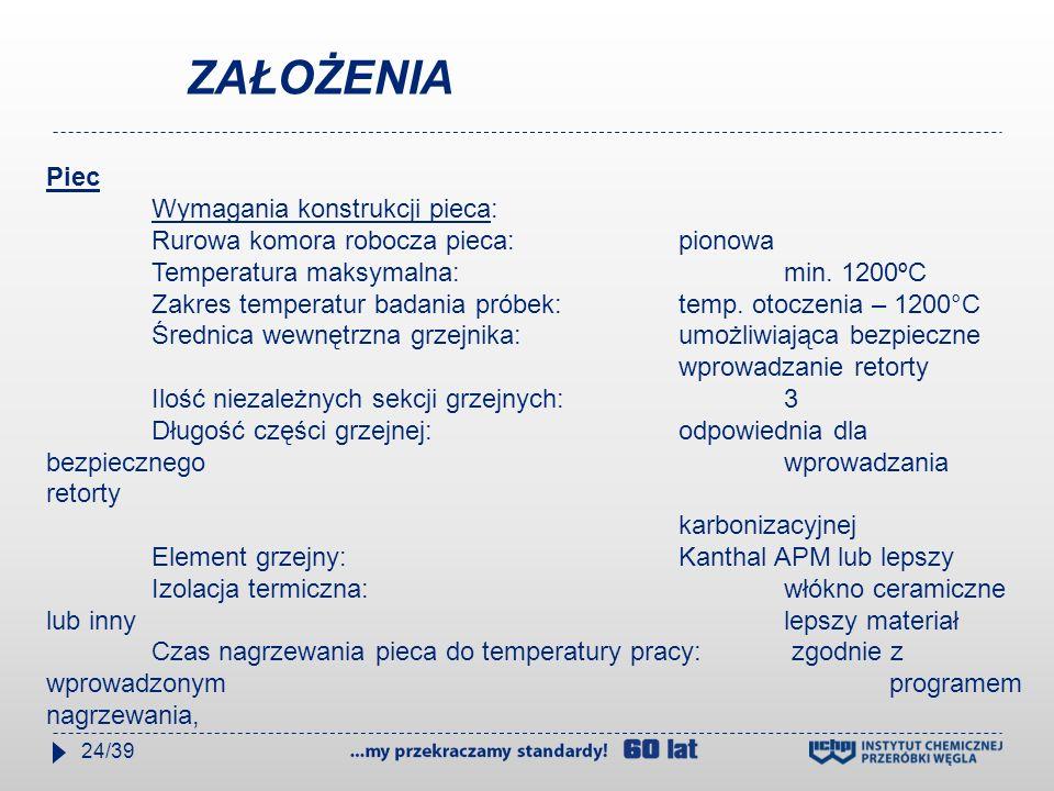 Termoelementy do regulacji temperatury sekcji grzewczych: 3 szt.