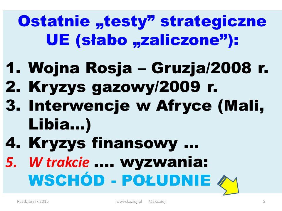 @SKoziej www.koziej.pl Dziękuję 16Październik 2015www.koziej.pl @SKoziej16