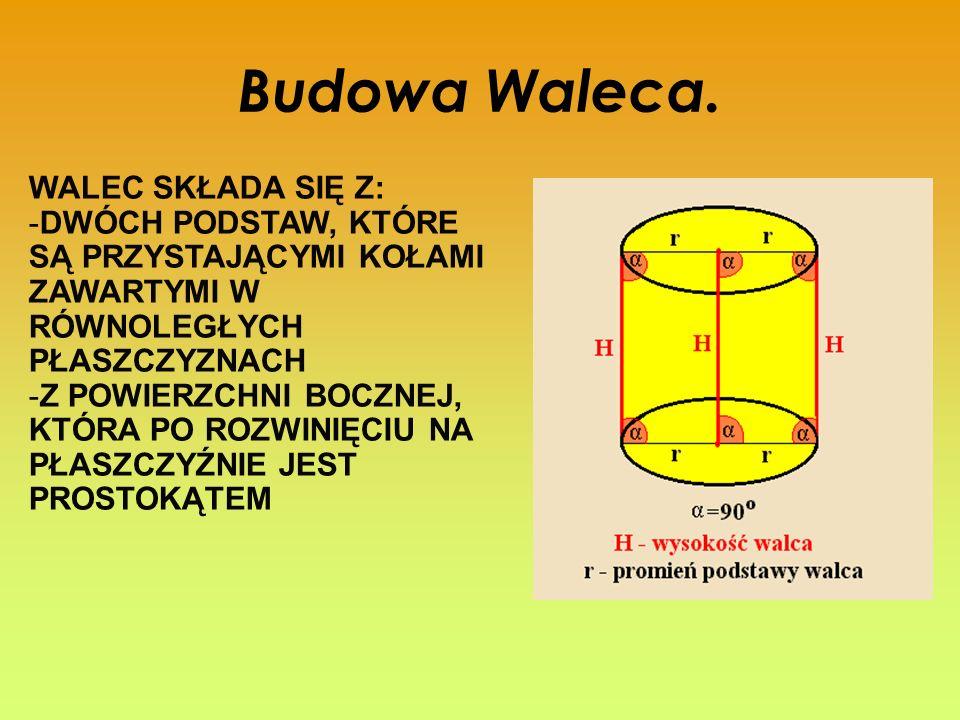 Budowa Waleca.