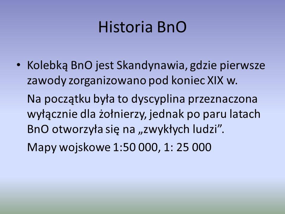 Historia BnO Kolebką BnO jest Skandynawia, gdzie pierwsze zawody zorganizowano pod koniec XIX w.