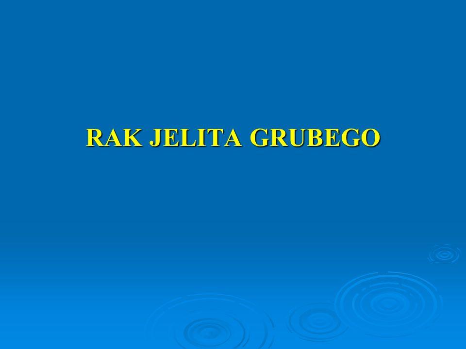 Rodzinnie występujący RJG  Ok.10 -15% chorych na RJG ma krewnego w I st.