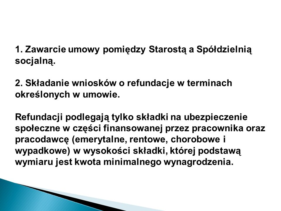 Wsparcie Powiatowego Urzędu Pracy w Kamieniu Pomorskim. Zwrot opłaconych składek na ubezpieczenie społeczne.