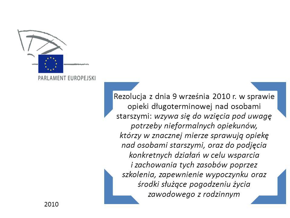 Rezolucja z dnia 9 września 2010 r.