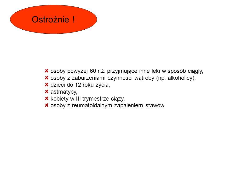 Nieselektywne COX inhibitory: Salicylany ( kwas acetylosalicylowy, salicylamid, salsalat, diflunisal ) Pochodne kwasu octowego ( indometacyna, diklofenak, ketorolak, lanozolak ) Pochodne kwasów propionowych ( ibuprofen, naproksen, flurbiprofen, ketoprofen ) Pochodne kwasu antranilowego ( kwas mefenamowy, kwas flufenamowy ) Pochodne kwasów enolowych ( piroksykam, tenoksykam ) Pochodne pirazolonu ( aminofenazon, propyfenazon, fenylbutazon ) Selektywne COX inhibitory: Koksyby ( rofekokoksyb, celekoksyb ) Meloksykam Nimesulid