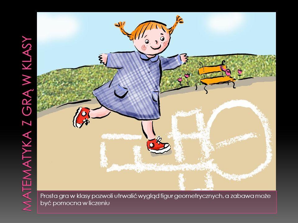 Prosta gra w klasy pozwoli utrwalić wygląd figur geometrycznych, a zabawa może być pomocna w liczeniu