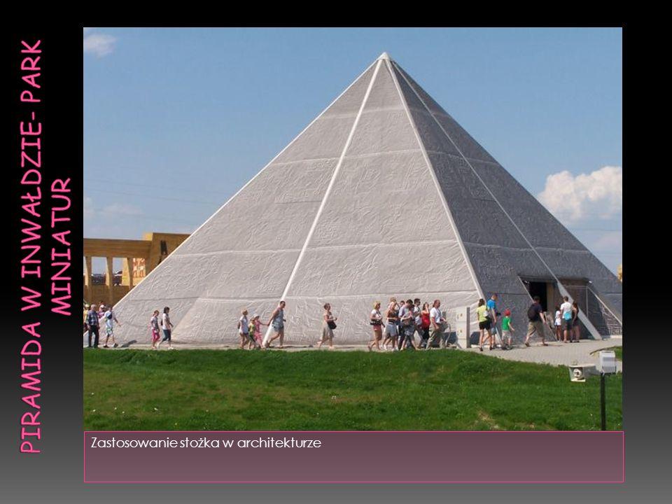 Zastosowanie stożka w architekturze
