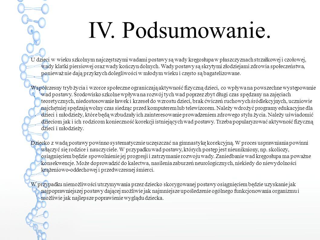 IV.Podsumowanie.