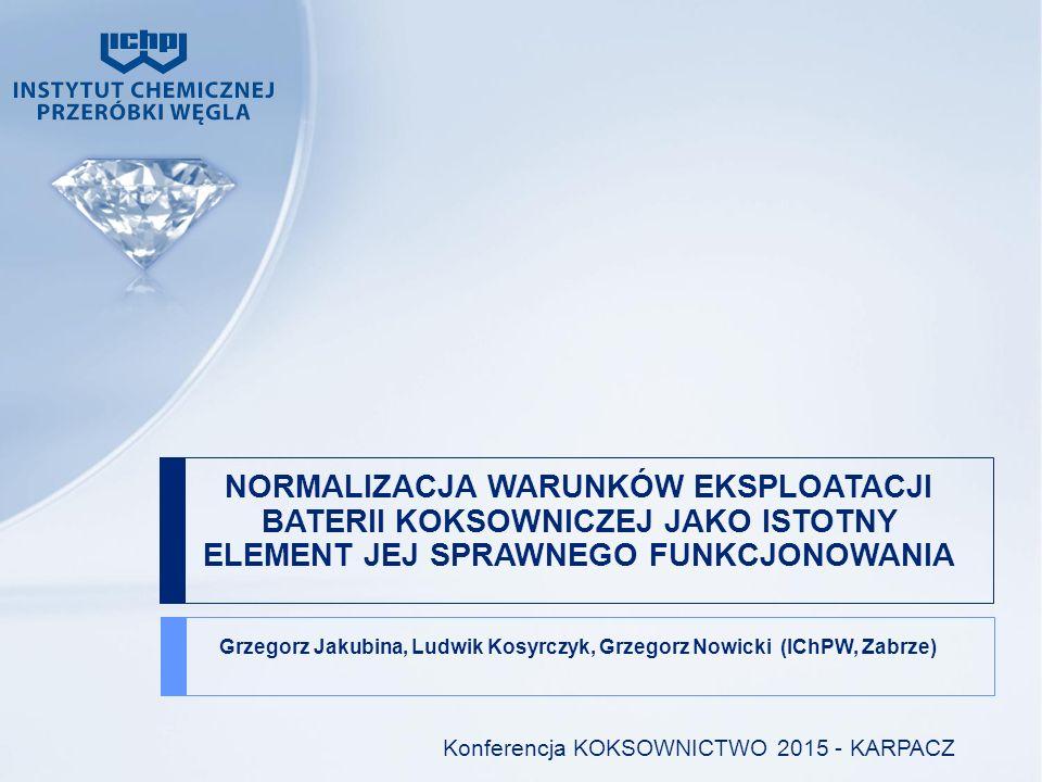 ZAKRES PRACENTACJI 1.PRZEDSTAWIENIE PRAC OPTYMALIZACYJNYCH 2.REGULACJA WARUNKÓW TEMPERATUROWO HYDRAULICZNYCH BATERII NR 11 BLOK B W ARCELORMITTAL OSTRAVA 3.EFEKTY PRAC 4.PODSUMOWANIE UZYSKANYCH WYNIKÓW 2/22