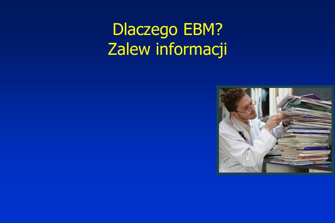 Dlaczego EBM? Zalew informacji