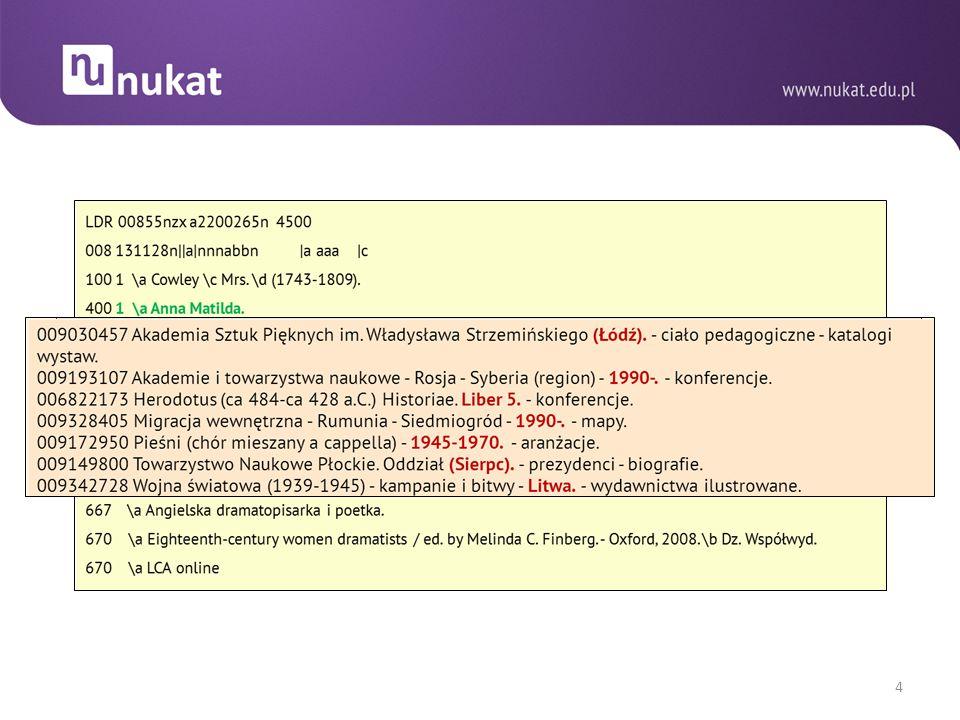WSPÓŁPRACA Z PORTALEM ibuk-LIBRA Wstępne rekordy bibliograficzne tworzone przez wydawców (projekt dotyczy e-booków, ale dane mogą być wykorzystywane również dla wersji drukowanych).