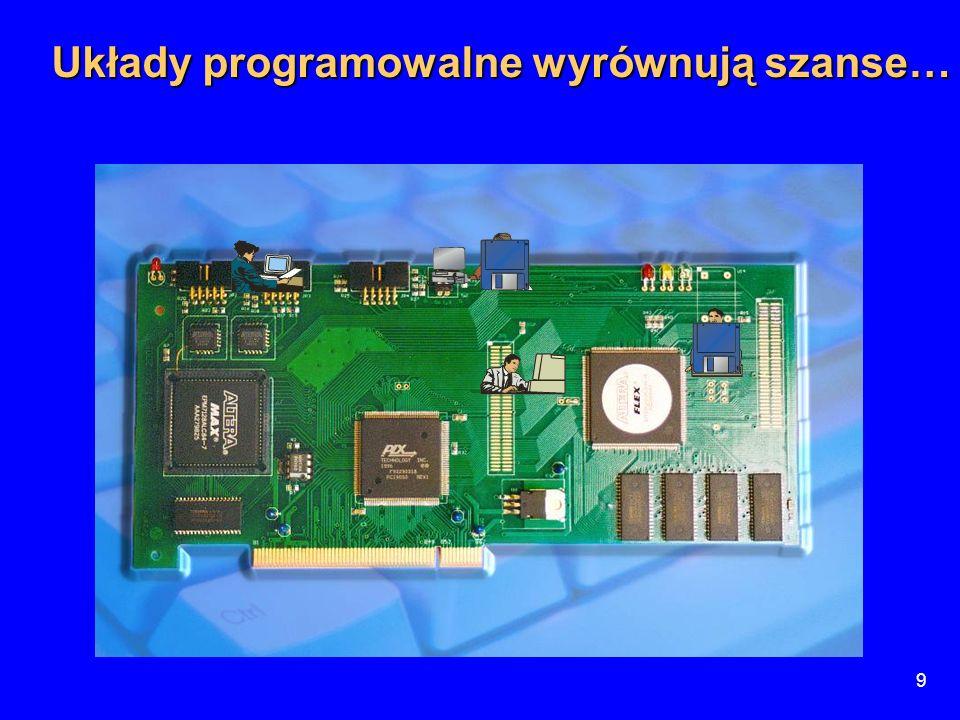30 Zastosowania układów DSP  Telewizja wysokiej rozdzielczości HDTV  Telefonia komórkowa  Rozpoznawanie mowy i obrazów  Kompresja obrazów  Szyfratory kryptograficzne  Szyfratory baz danych  Diagnostyka medyczna