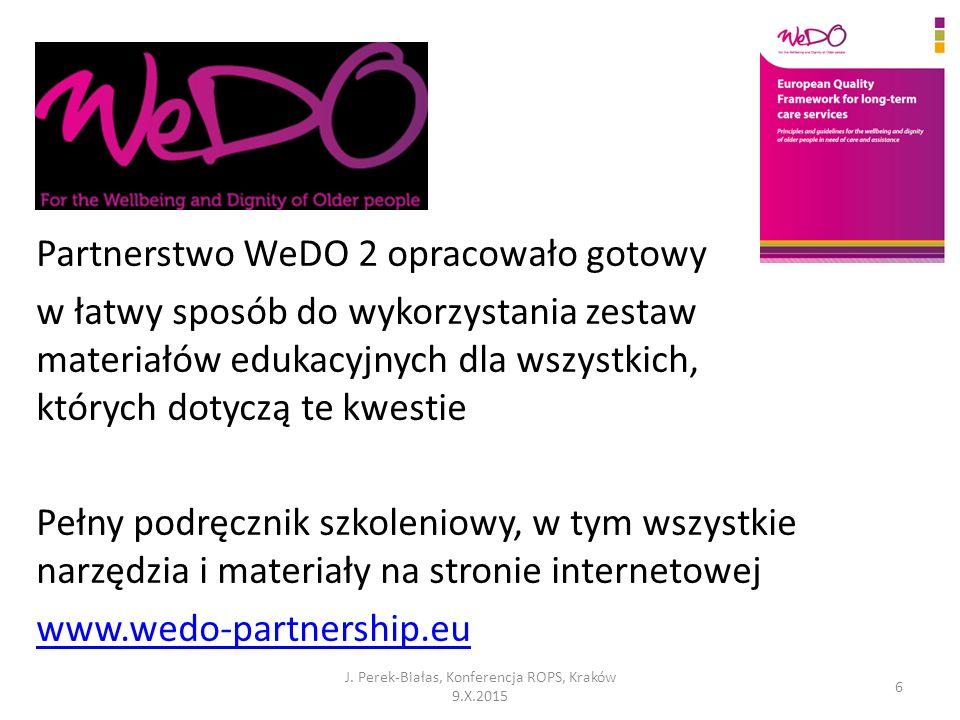 Partnerstwo WeDO 2 opracowało gotowy w łatwy sposób do wykorzystania zestaw materiałów edukacyjnych dla wszystkich, których dotyczą te kwestie Pełny p