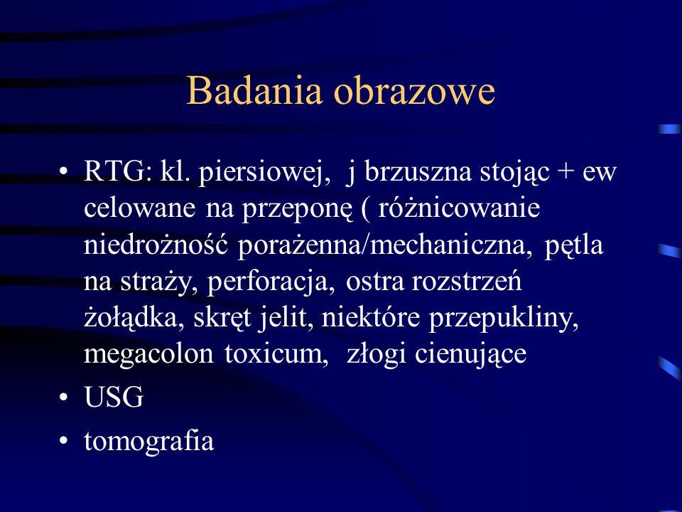 Badania obrazowe RTG: kl.