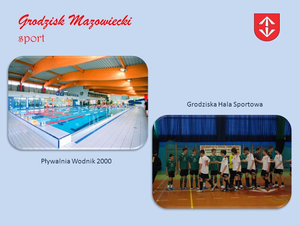 Grodzisk Mazowiecki sport Pływalnia Wodnik 2000 Grodziska Hala Sportowa